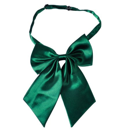 Green Bow tie womens