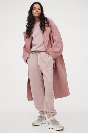 Relaxed Fit Sweatshirt - Powder pink - Ladies   H&M GB