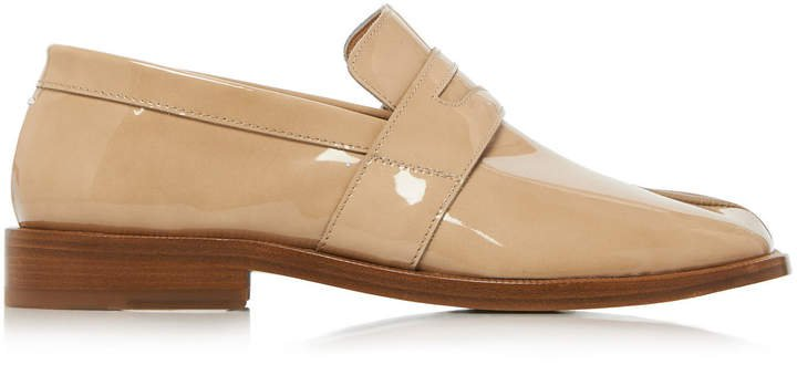 Split Toe Loafers
