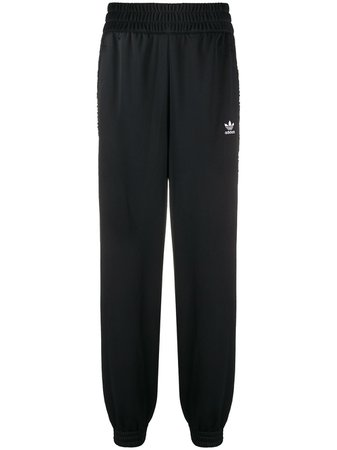 Adidas Logo Embroidered Track Trousers - Farfetch