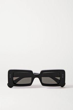 Black Square-frame acetate sunglasses | Gucci | NET-A-PORTER