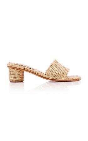 Sol Leather Sandals By Cult Gaia | Moda Operandi