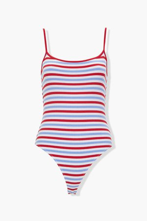 Striped Cami Bodysuit | Forever 21