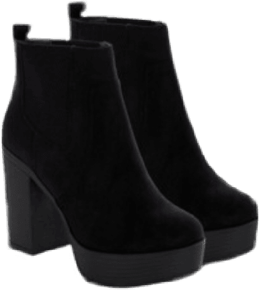 aesthetic clothes png retro black boots