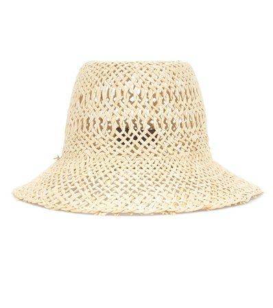 Sombrero Vallauris De Papel Tejido   Lola Hats - Mytheresa