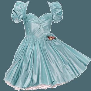 blue png dress