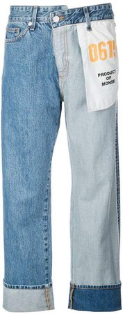 straight-leg Inside Out jeans