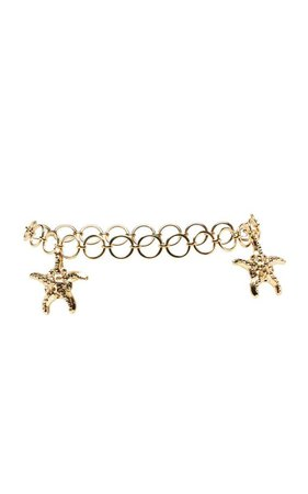 Tanya Starfish Chain Belt by RIXO PF19