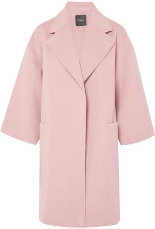 Wool And Cashmere-blend Coat - Pink