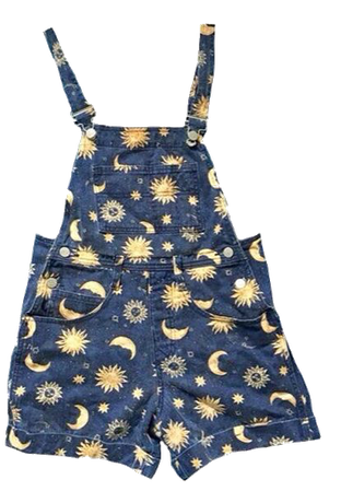 star overall shorts