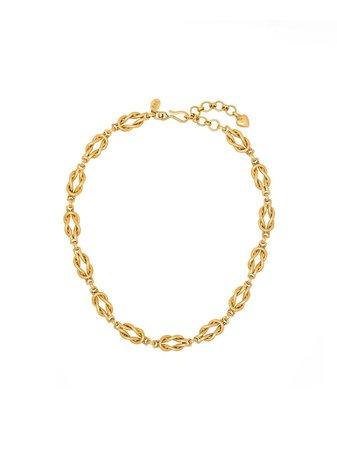 Brinker & Eliza Love Knot Necklace - Farfetch