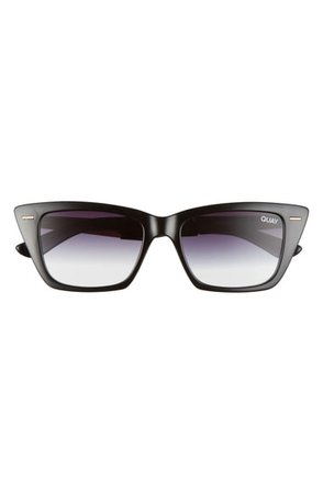 Quay Australia Prove It 52mm Cat Eye Sunglasses | Nordstrom