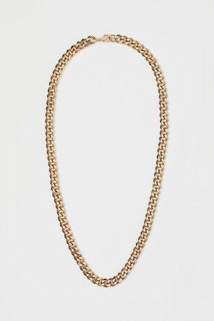 Necklace - Gold-colored - Men   H&M US