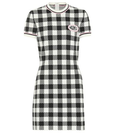 Checked minidress