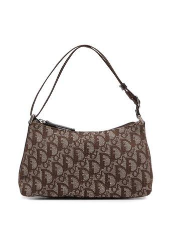 Christian Dior pre-owned Trotter zipped handbag - FARFETCH