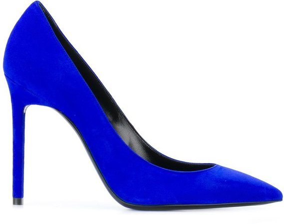 Zoe pointed-toe pumps