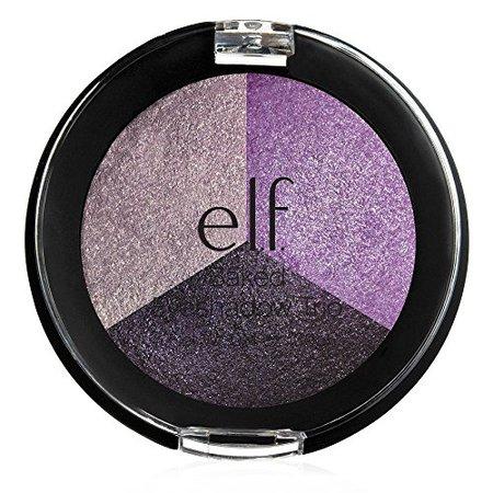 Amazon.com : e.l.f. Studio Baked Eyeshadow Trio 81293 (Lavender Love) : Beauty