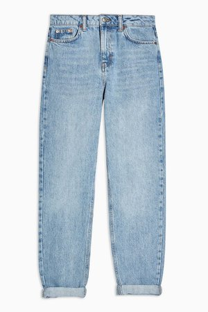 Bleach Mom Tapered Jeans   Topshop