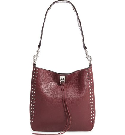 Rebecca Minkoff Small Darren Deerskin Leather Feed Bag | Nordstrom