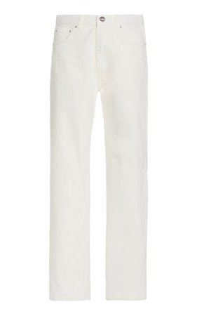 Original Twisted-Seam Rigid Mid-Rise Straight-Leg Jeans By Toteme | Moda Operandi