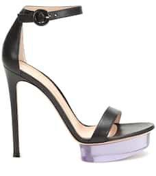Plateau Leather Sandals   Gianvito Rossi - Mytheresa