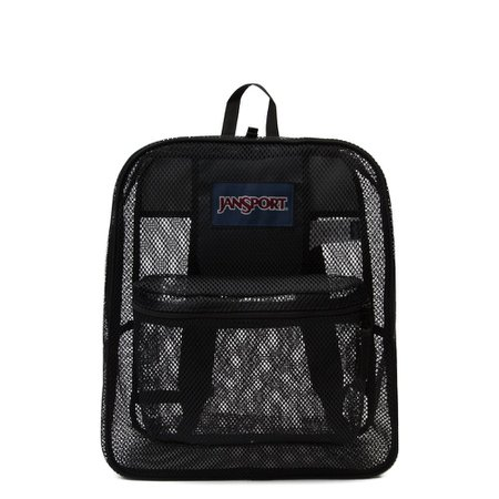 JanSport Mesh Pack Backpack - Black | Journeys