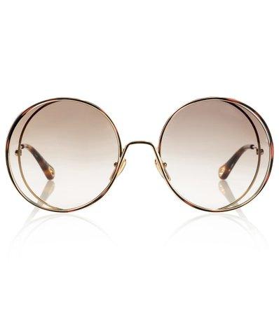 Chloé - Hanah oversized round sunglasses   Mytheresa