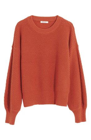 Madewell Fairbanks Pullover Sweater | Nordstrom