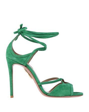 Aquazzura Sandals - Women Aquazzura Sandals online on YOOX United States - 11585358JL