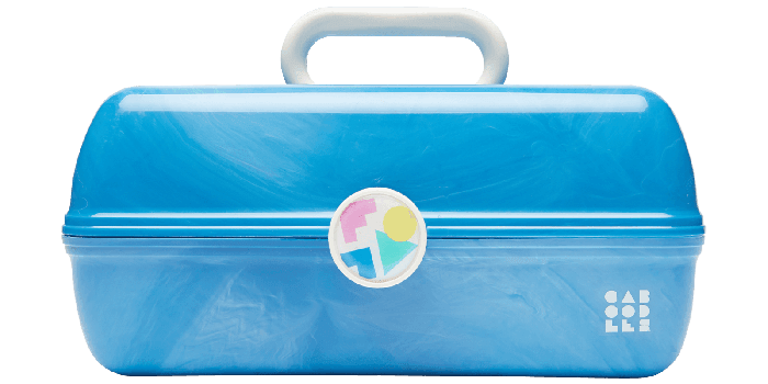 Caboodles | Retro Makeup Cases | On-The-Go Girl Marble