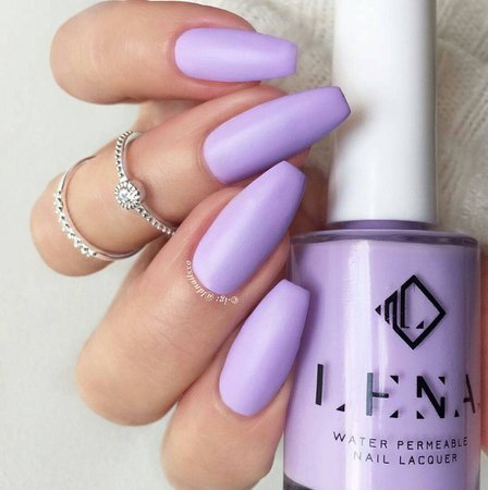 matte purple nails - Google Search