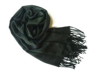 pattern dark green feminine scarf silk - Google Search