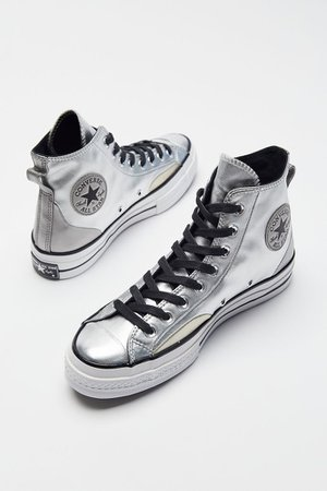 Converse Chuck 70 Diamond Metal High Top Sneaker | Urban Outfitters