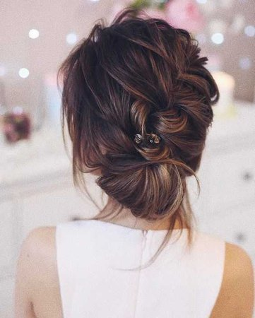 brunette hair updos - Google Search