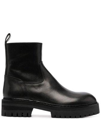 Ann Demeulemeester lug-sole Ankle Boots - Farfetch
