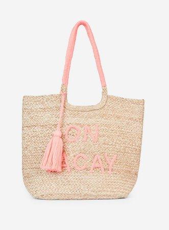 Nude 'On Vacay' Beach Shopper Bag | Dorothy Perkins