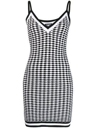 Balmain Fitted Dress | Farfetch.com