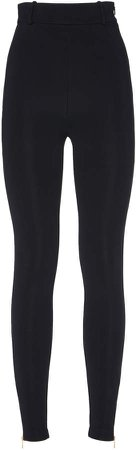 High-Rise Stretch-Jersey Leggings Size: 36