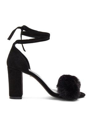 Lacey Faux Fur Heel