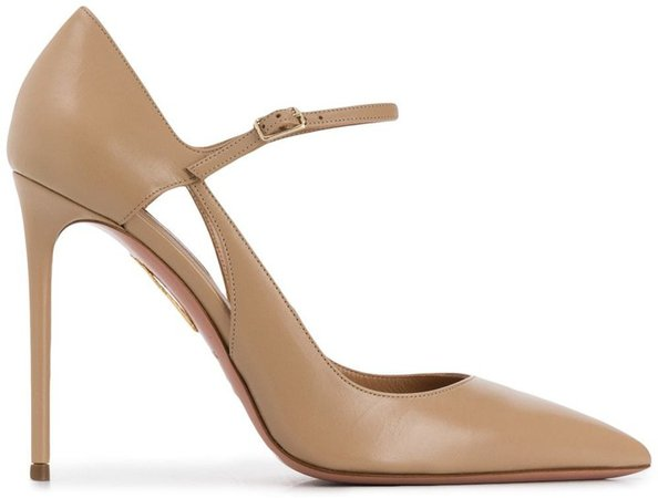 Pointed Toe Cut-Out Pumps