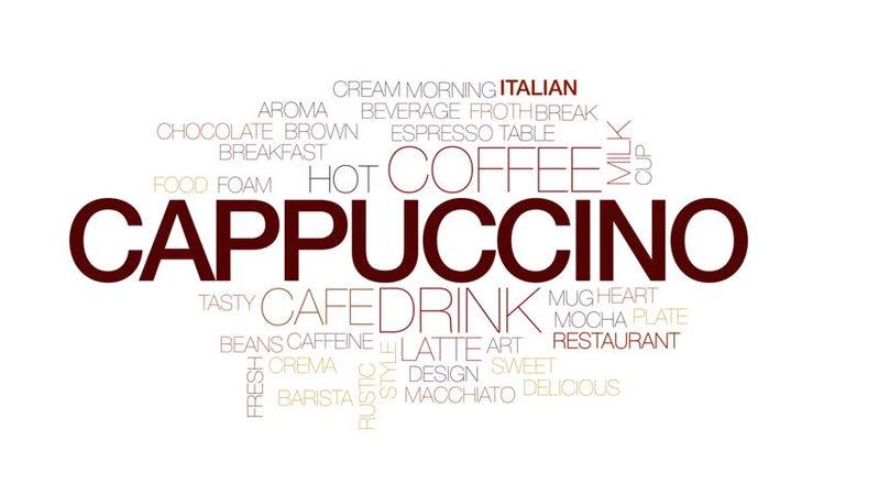 cappuccino words - Google Search