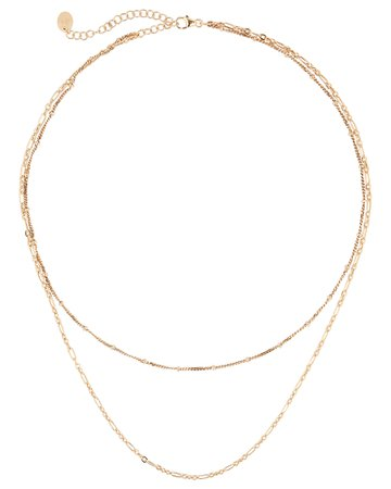 Argento Vivo | Layered Chain Necklace | INTERMIX®