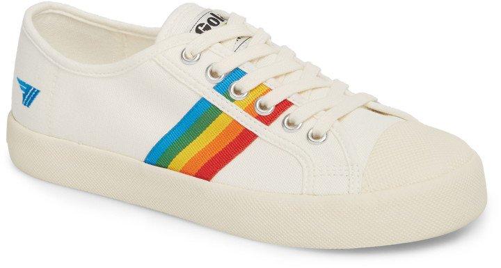 Coaster Rainbow Striped Sneaker