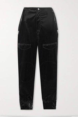 Harlan Pu-blend Skinny Pants - Black