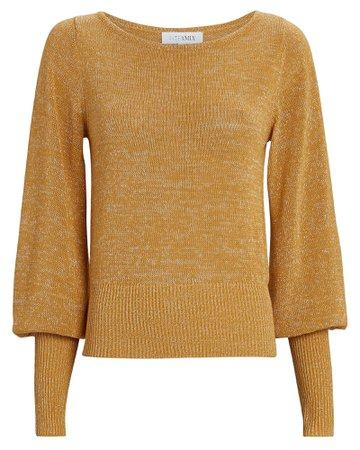 INTERMIX Private Label Bishop Sleeve Sweater   INTERMIX®