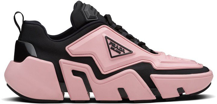 Techno low-top sneakers