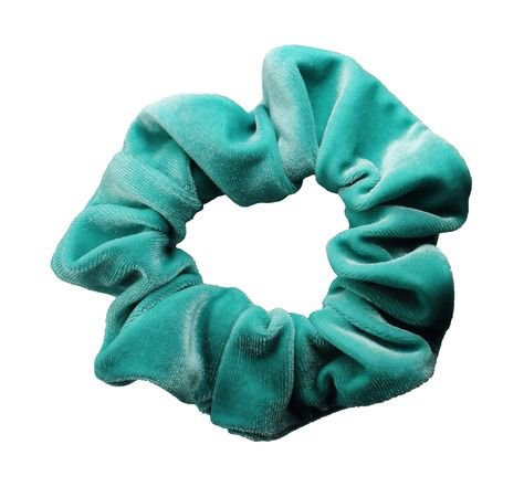mint blue green png filler scrunchie
