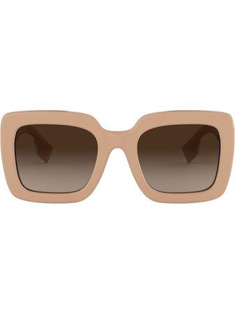 Burberry Eyewear Square Oversized Sunglasses | Farfetch.com