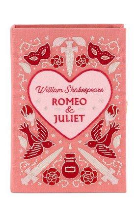 Romeo & Juliet Embroidered Book Clutch By Olympia Le-Tan   Moda Operandi