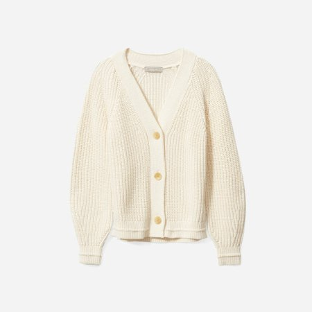 Women's Texture Cotton Cardigan | Everlane